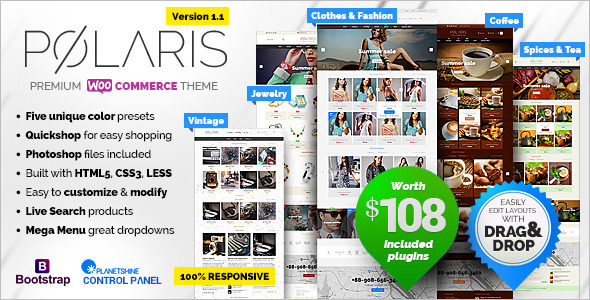 Powerful E-commerce Website Template