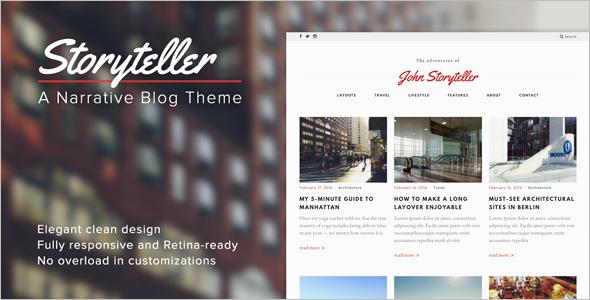 Premium 3 Column WordPress Template