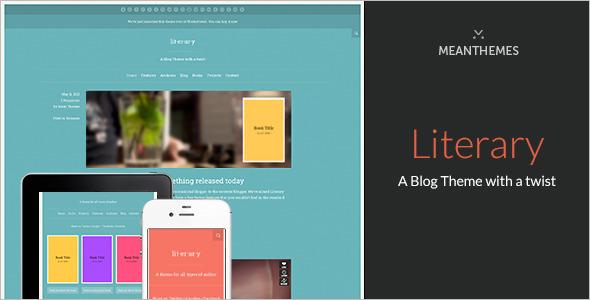 Premium Author WordPress Template
