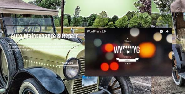 Premium Automobile WordPress Theme