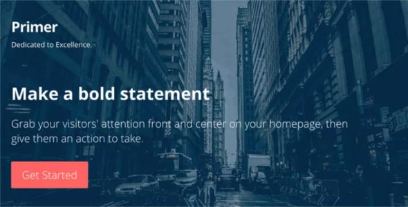 Premium Godaddy WordPress Theme