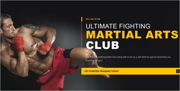 Premium Martial Arts WordPress Theme