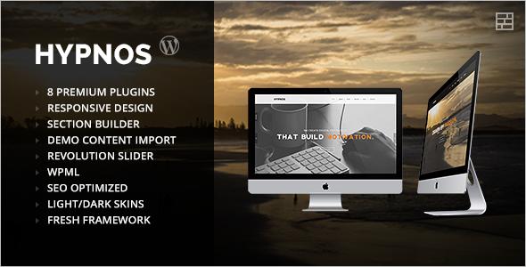 Premium Parallax WordPress Template