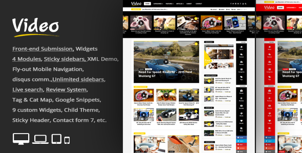 Premium & Responsive WordPress Themes and templates