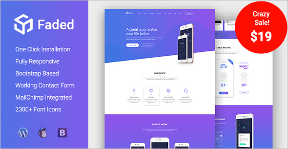 Multipurpose Landing Single Page Themes