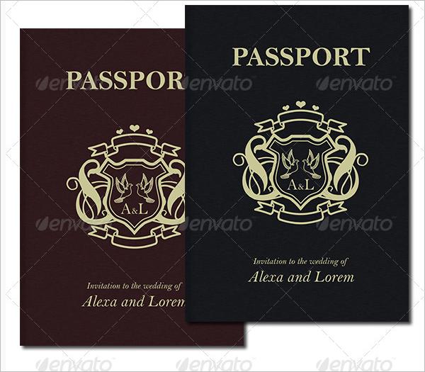 Print Passport Template