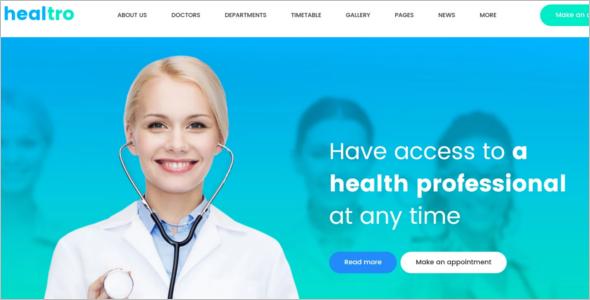 Private Medical Clinic WodrdPress Template