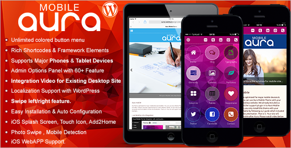 Pro Mobile WordPress Template