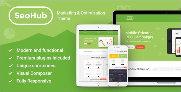 Professional Digital Marketing WordPress Theme