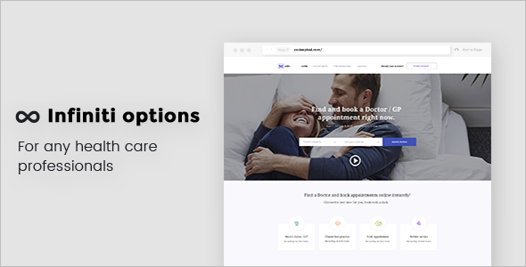 Professional Health care WordPress Template