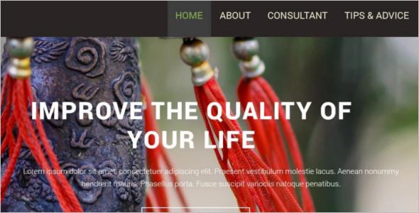 Quality Interior WordPress Template