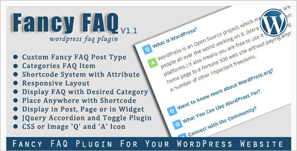 Question & Answer Plugin WordPress Theme