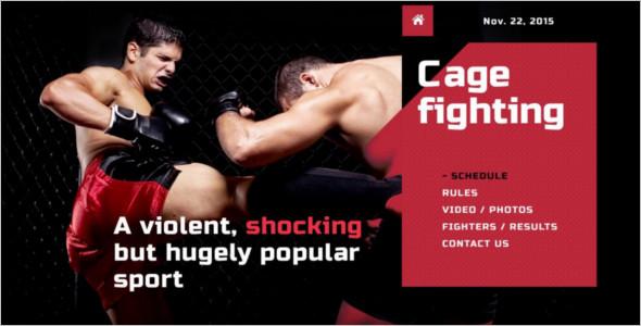 REsponsive Martial Arts WordPress Template