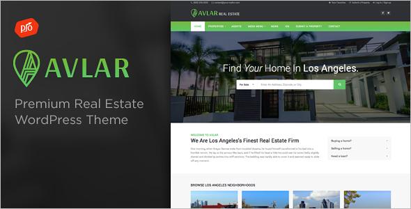 Real Estate Agent Website Template