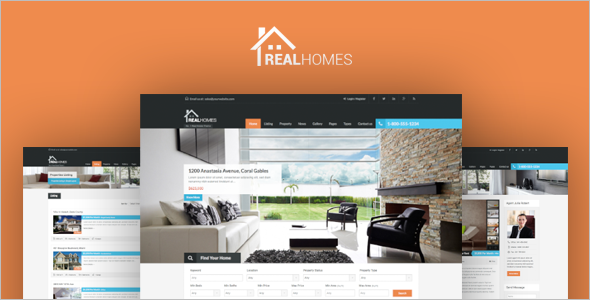Real Estate Sell WordPress Template