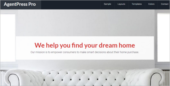 Realtor Frame Website Templates