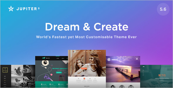 Responsive Flexible WordPress Template
