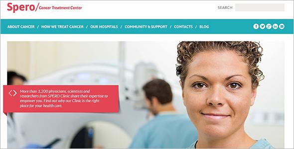 Responsive Medical WordPress Template