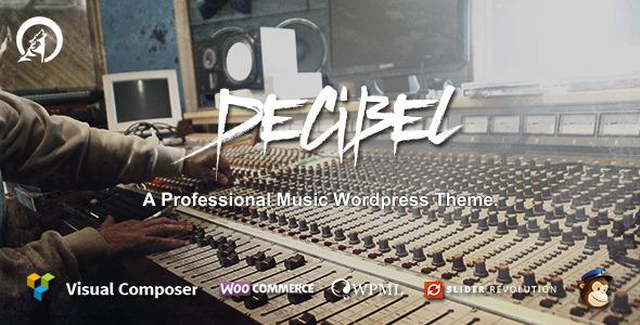 Responsive Music WordPress Templates