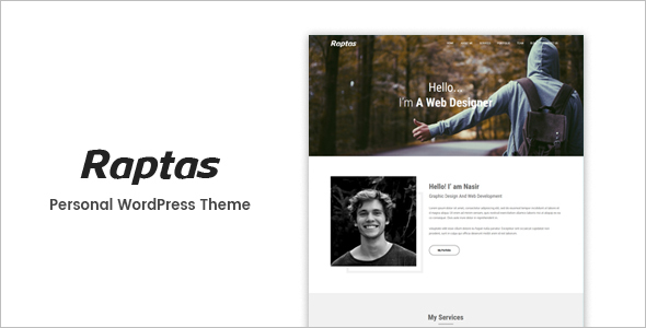 Responsive New WordPress Template