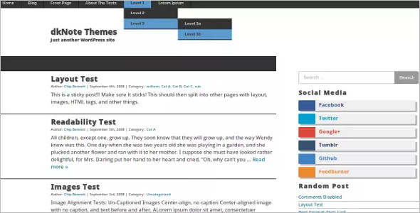 Responsive Open Source WordPress Theme