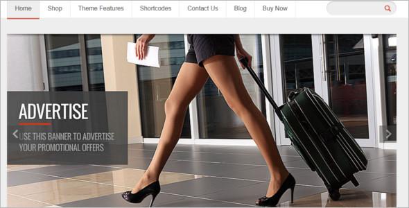 Responsive Shopping WordPress Template