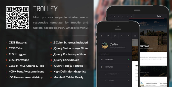 Responsive Tablet Ready Compatible Template