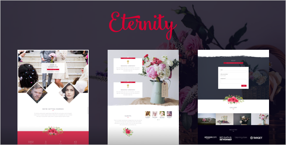 Responsive Wedding WordPress Template