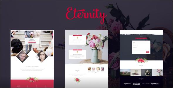 Responsive Wedding WordPress Template