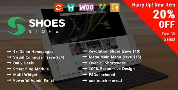 Responsive WooCommerce WordPress Theme