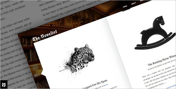 Responsive Writer WordPress Template