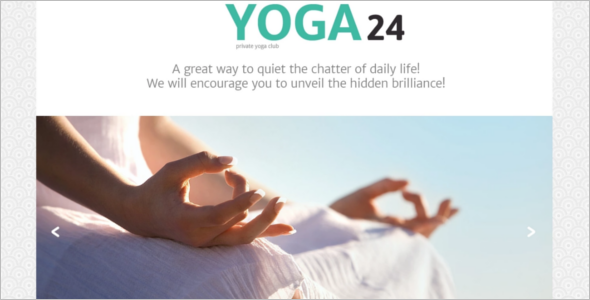 Responsive Yoga Website Template