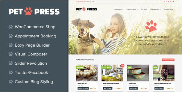 Retail Services WordPress Template