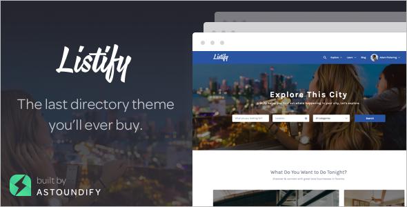 Running Sell WordPress Template