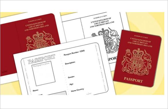 Sample Passport Template