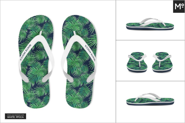 Sandals & Flip flops Mockup Design