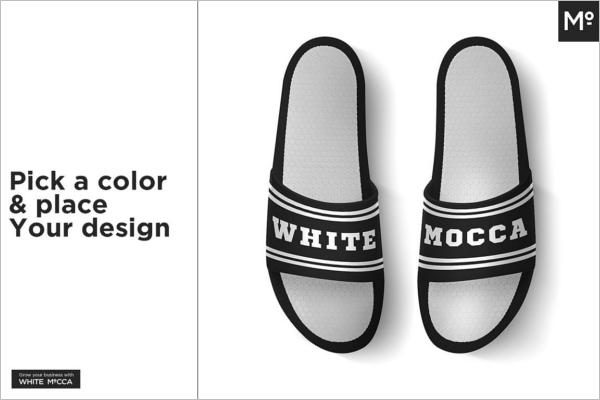 Sandals Mockup Photoshop Design