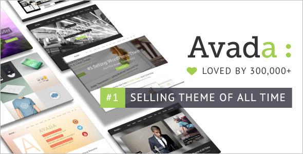 Selling Business WordPress Template