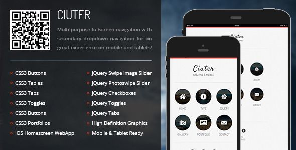 Selling Full Page Mobile Template