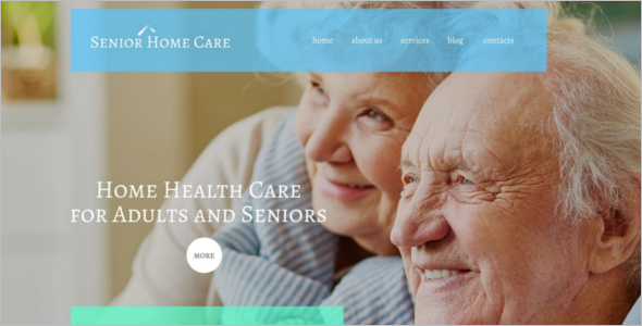 Senior Home Care WordPress Theme