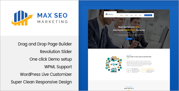 Seo New WordPress Template