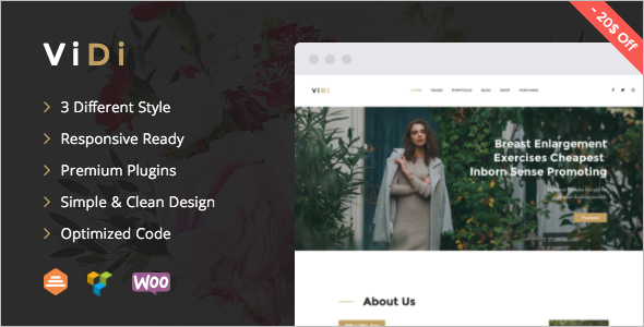 Seo Single Page WordPress Template