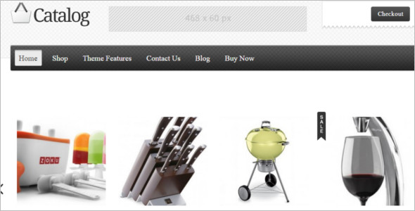 Shopping Catlog WordPress Template