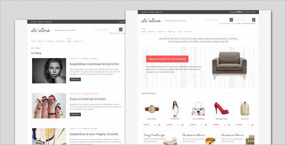Shopping Store WordPress Template