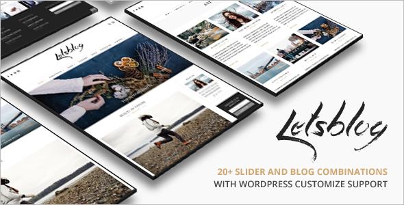 Simple 3 Column WordPress Template