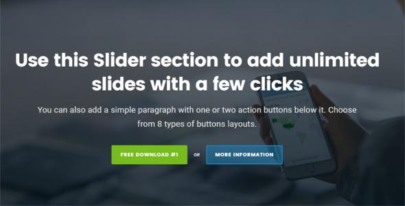 Simple Godaddy WordPress Template