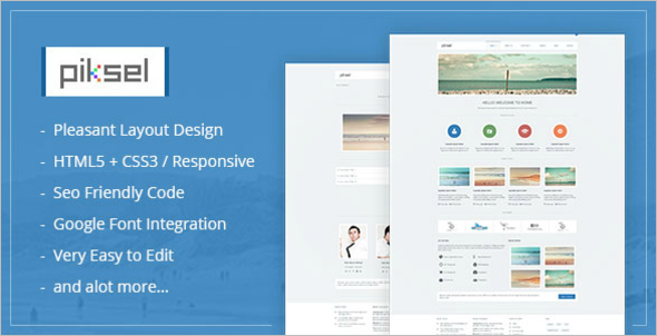 Simple New Blog WordPress Template