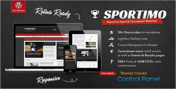 Simple Sports Magzine Template