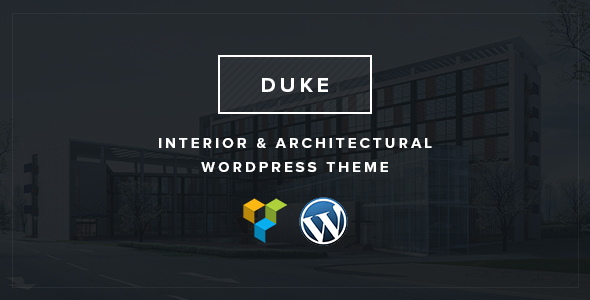Single Page Architectural WordPress Template