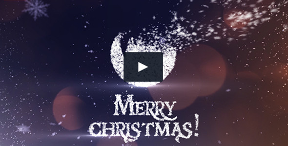 Snow Flakes Christmas Openers Video Template
